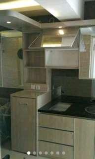 Mini bar, kitchen set, lemari pakaian, lemari baju, Dll