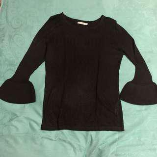 sweater rajut stradivarius