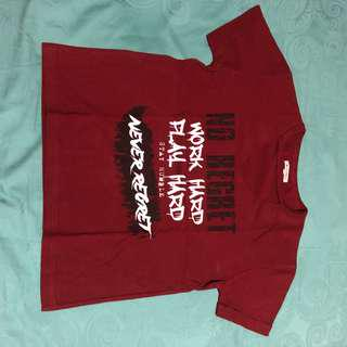 colorbox v neck tee