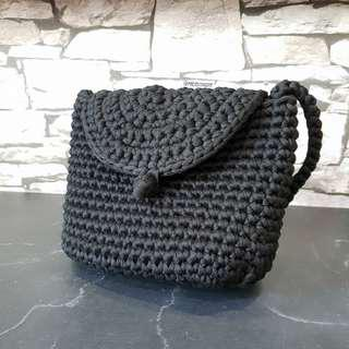 🚚 Crochet Messenger Crossbody Bag