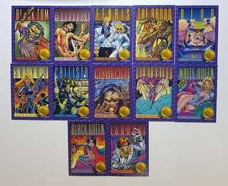 Marvel Series II Xmen Series 2 and Marvel Assorted Cards