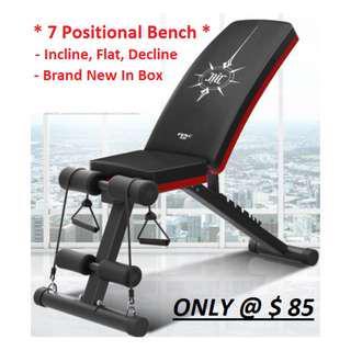 Exercise Gym Bench - BNIB