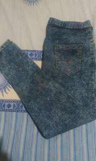 Jual cepatt jeans pinggang karet
