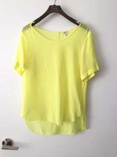 Aritzia Wilfred Silk Top