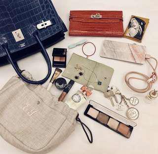 PO: Bag's Organiser Hermes Kelly Chanel LV