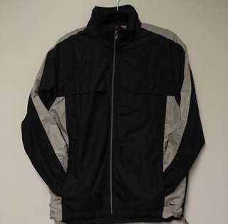 Black & Grey Nike Windbreaker