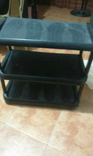 FOR PICK UP ONLY! Shoe Rack (3 layers)