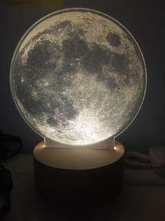 全新 月球燈