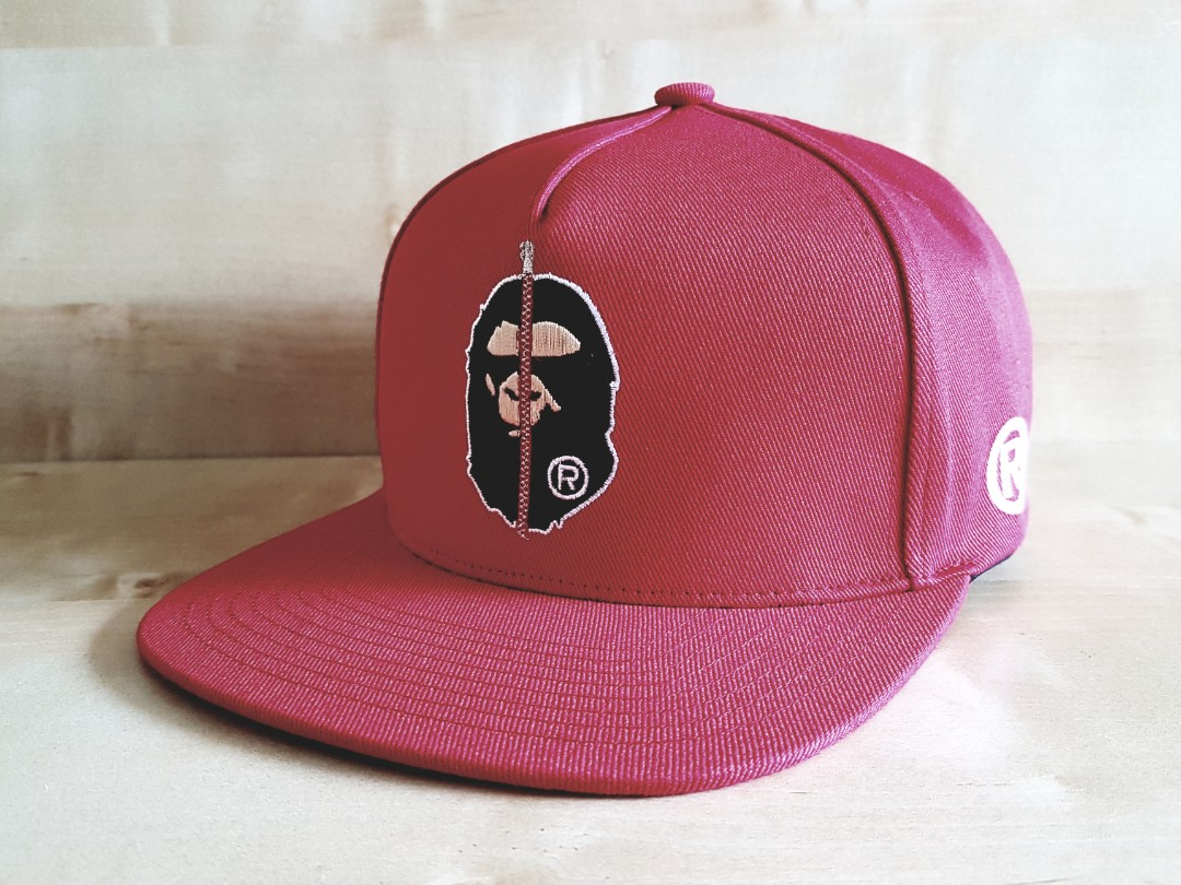 a904483e 2nd Bape Snapback Red, Men's Fashion, Accessories, Caps & Hats on ...