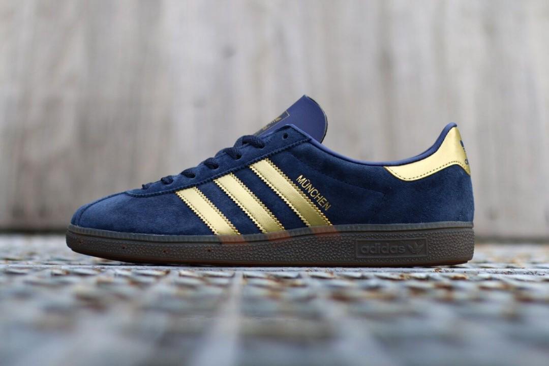 Adidas Munchen Spezial Sneakers, Men's Fashion, Footwear