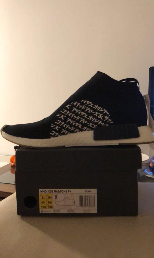 ac69fe3c0 Adidas NMD United Arrows city sock