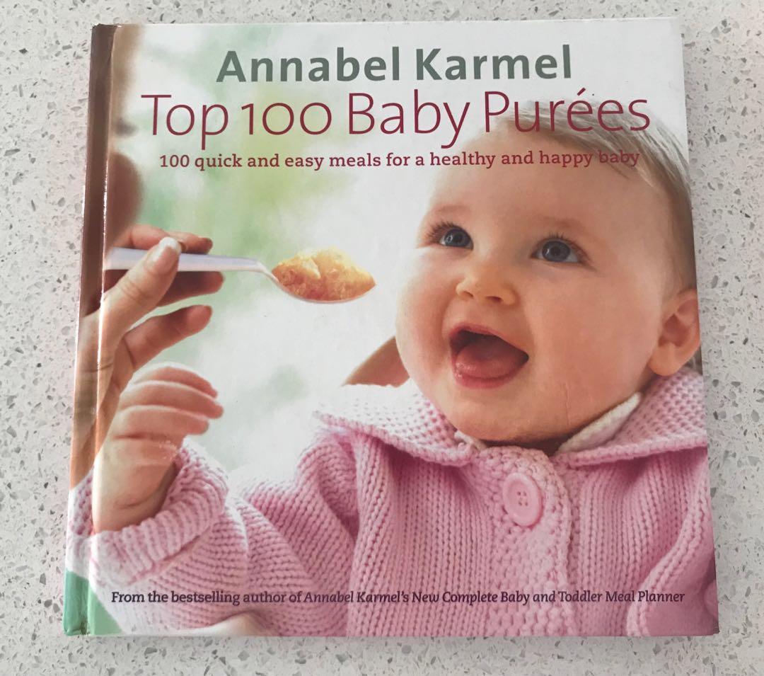 Annabel karmel baby pure recipe book babies kids nursing photo photo forumfinder Choice Image