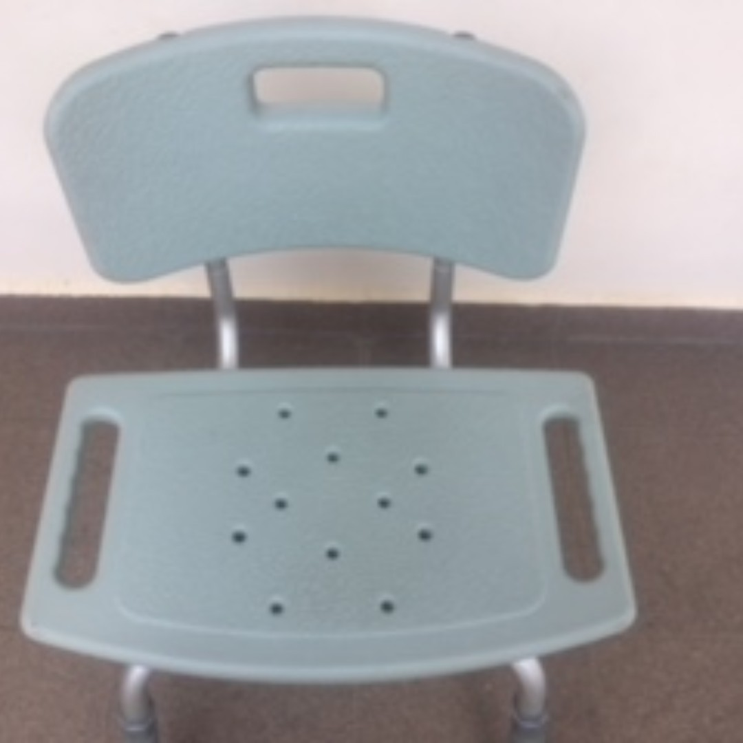 Anti Slip Shower Chair for Elderly (Adjustable Height), Assistive ...