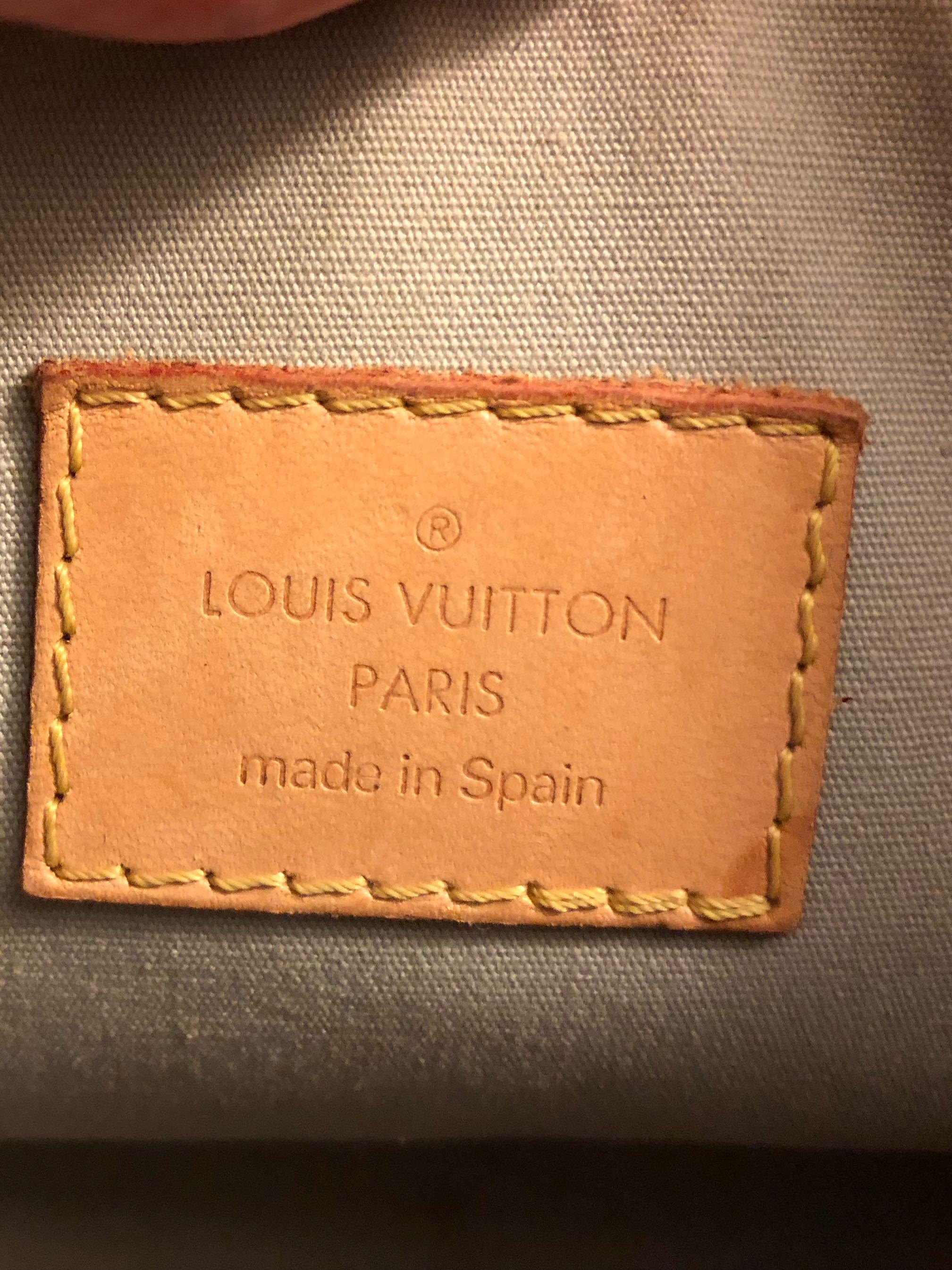 AUTH LOUIS VUITTON Mallory