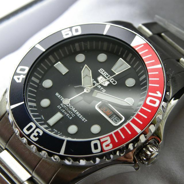 c18a7dc22 Authentic Brand New Seiko 5 Sports Diver's Automatic SNZF15J SNZF15 ...