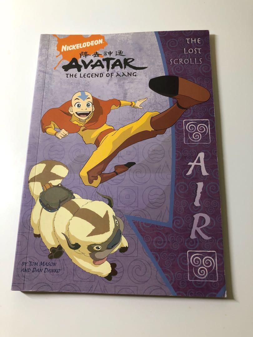 Avatar legend of aang - the lost scrolls + the pocket guide