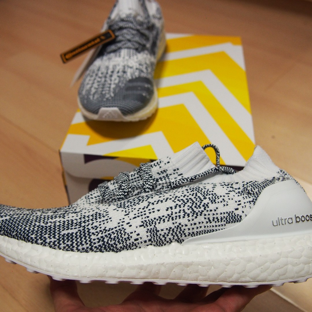 low priced ed899 f8044 BNIB Adidas Ultra Boost Uncaged M Non Dyed White Oreo (100 ...