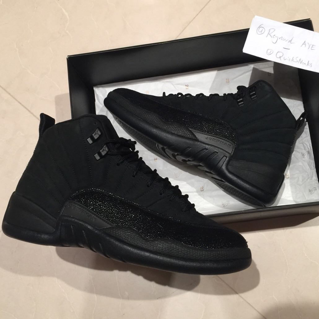 5f6823be3af ... new style bnib ovo air jordan 12 xii mens fashion footwear sneakers on  carousell b0fca 10abe
