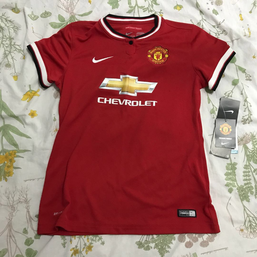 BNWT Authentic Manchester United Jersey df4305929b