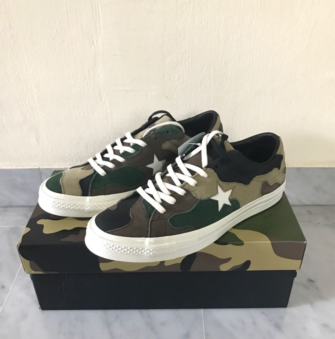 9dff7bdb3089 Converse one star Camo x sns limited edition US9