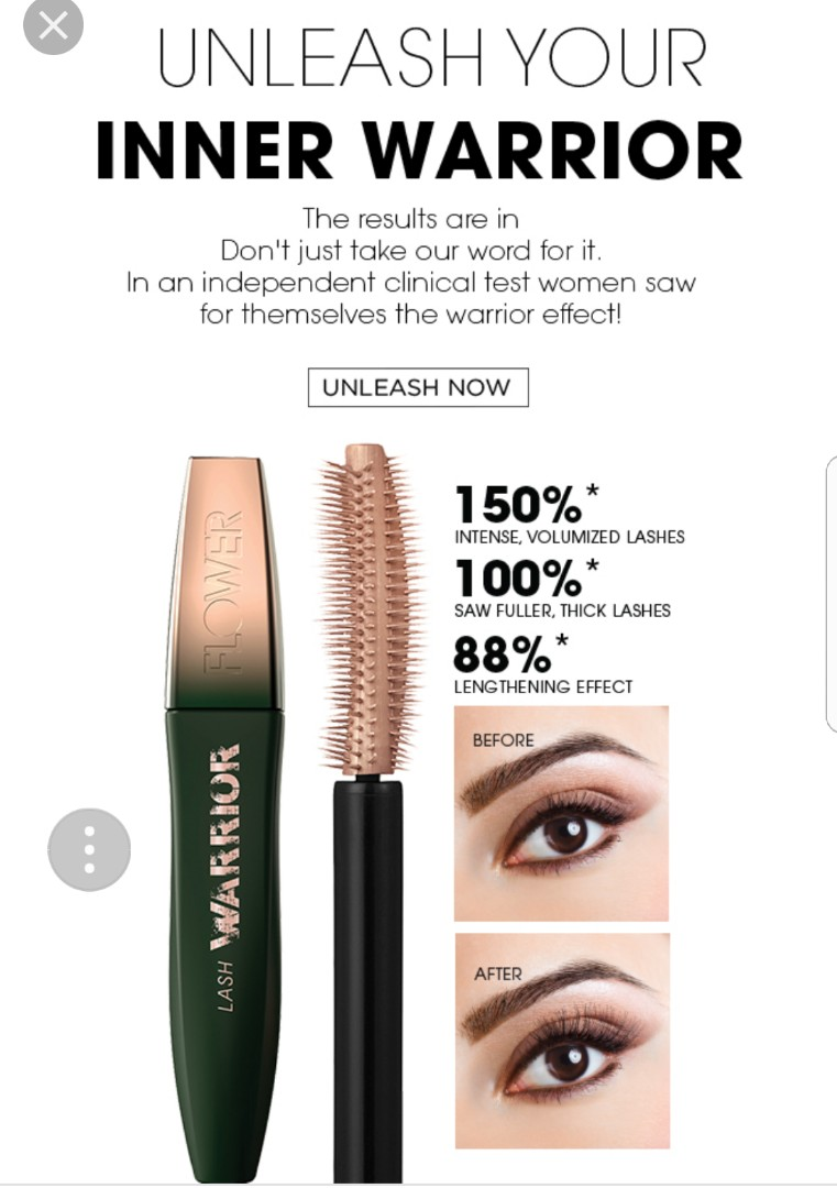 8a6f99933ae Flower Lash Warrior from Flower Beauty, Health & Beauty, Makeup on ...