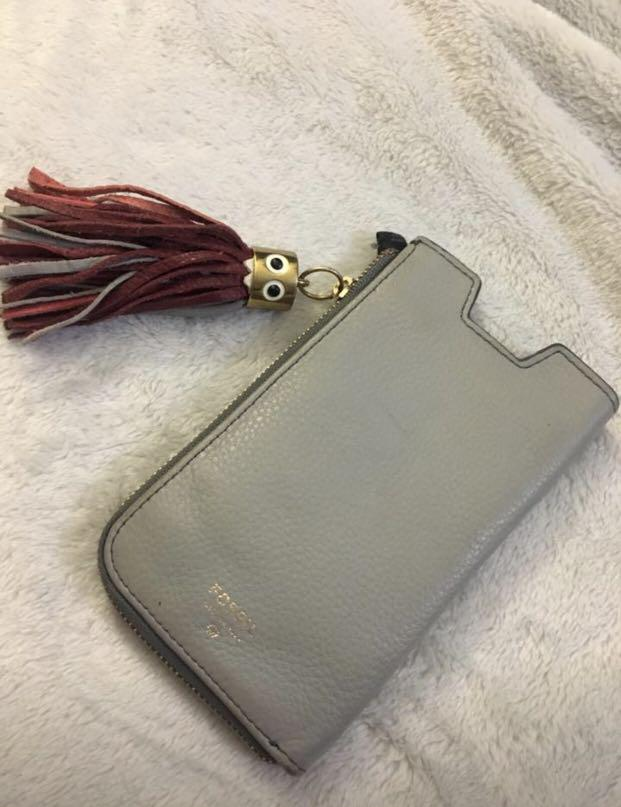 Fossil Wallet and Phone Holder