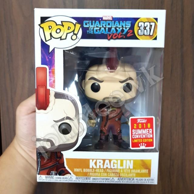 Vinyl  Marvel Guardian Of The Galaxy SDCC #337 2018 US Exclusive Pop