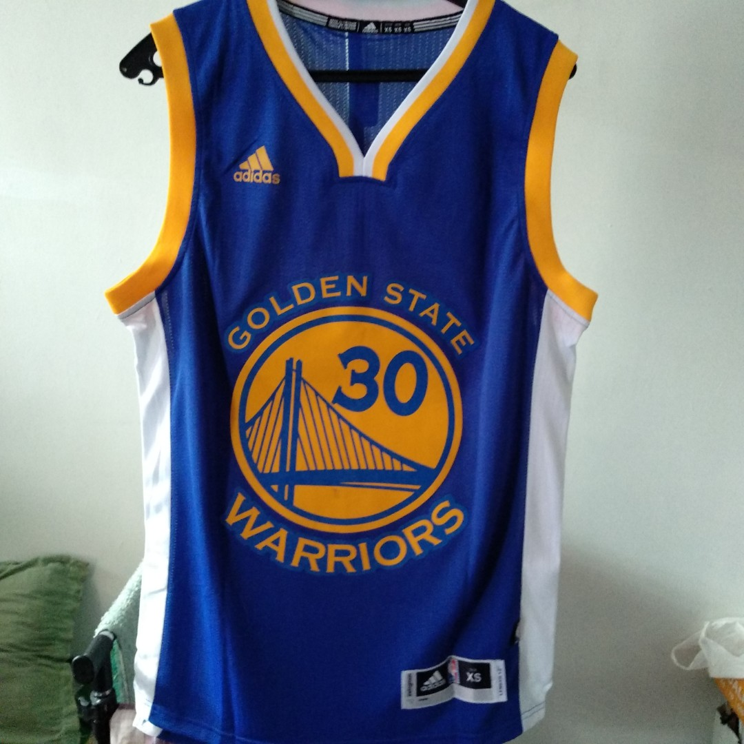 finest selection 4facc 61cf9 Golden State Warriors Basketball Jersey 2017 w/ Nameset Curry 30