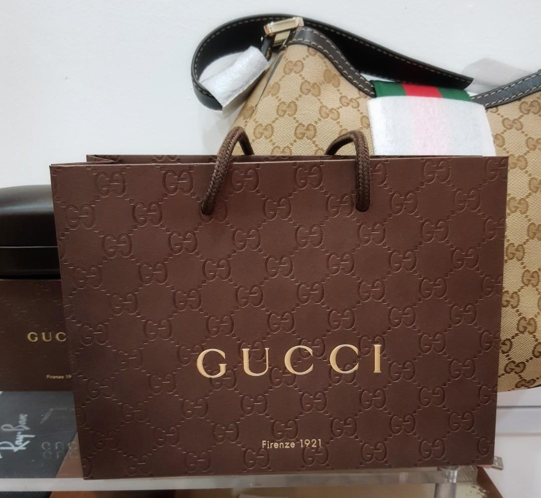 buy gucci paper bag
