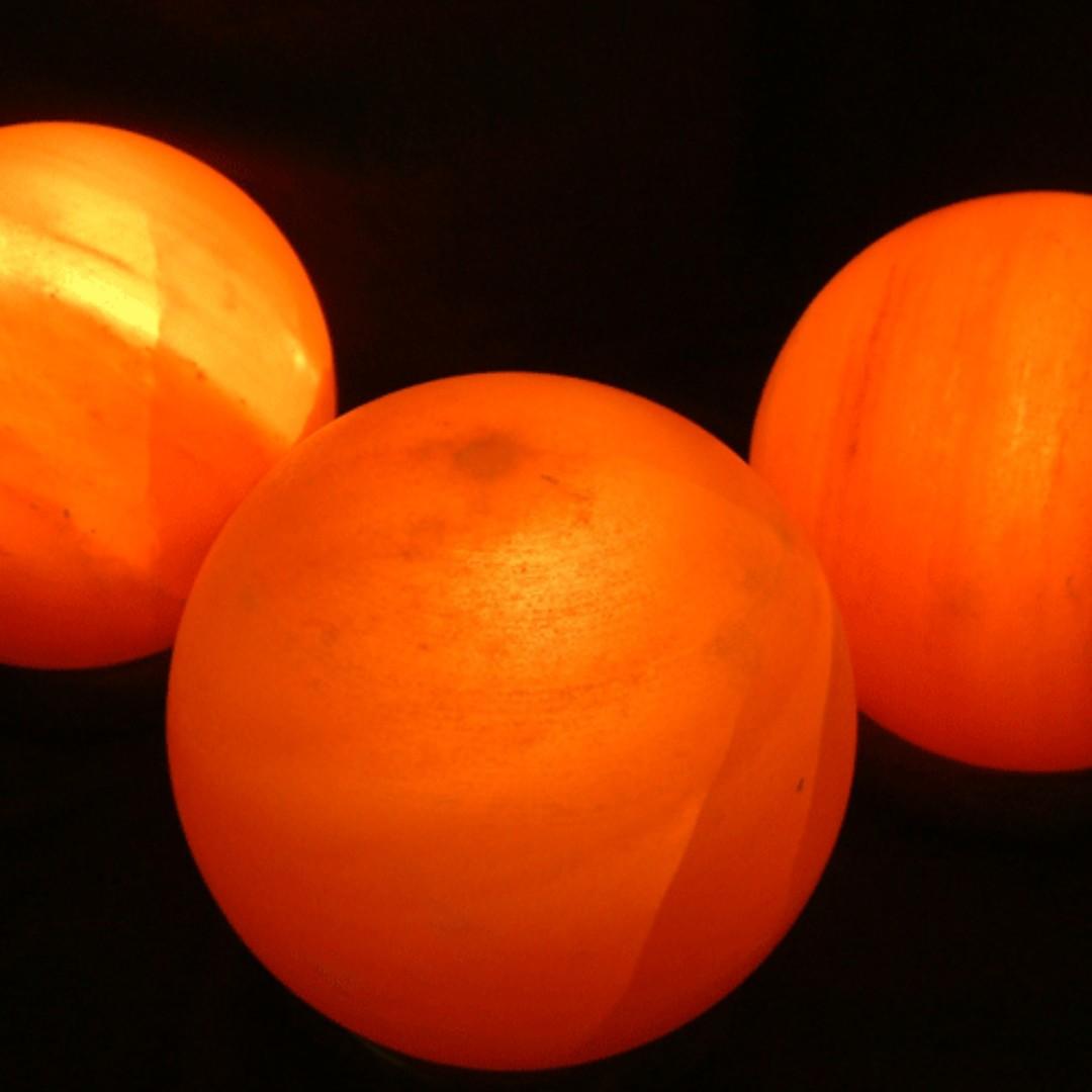 Himalayan Salt Lamp Sphere b921cbe39