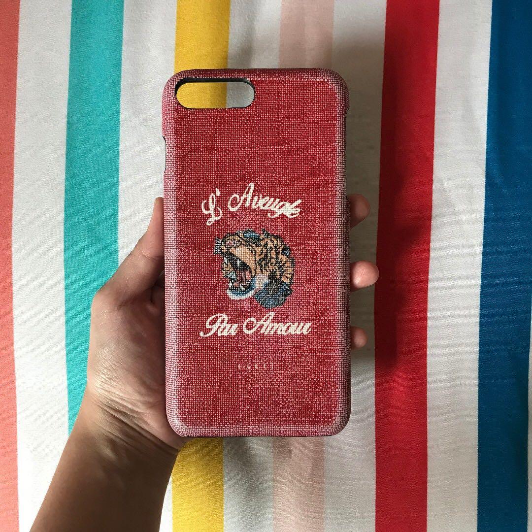 best loved 80cc2 f66d9 iPhone 7 plus / 8plus Gucci hard case