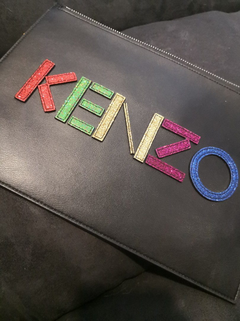 45fa5ed1ec7 Kenzo Clutch, Luxury, Bags & Wallets, Clutches on Carousell