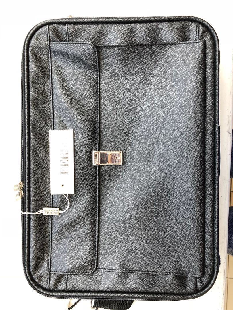 d87d899d2263 Laptop bag / messenger bag / business travel bag - Gianfranco Ferre ...