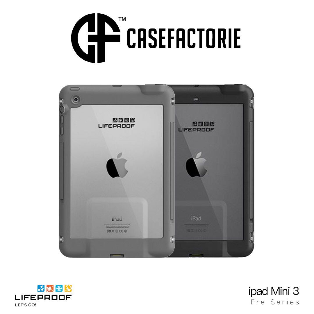 new products bc067 88bc3 LIFEPROOF FRE SERIES FOR IPAD MINI 3/2 WATERPROOF CASE