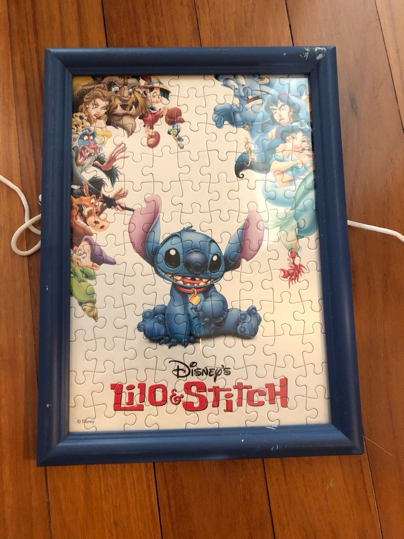 LILO and stitch puzzle and frame, Toys & Games, Others on Carousell