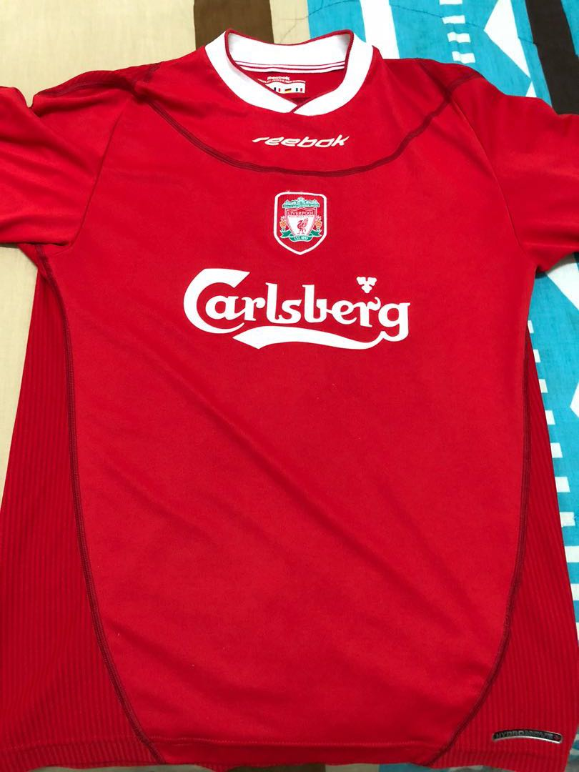 promo code 61a0e f9bed Liverpool 2003 Kit