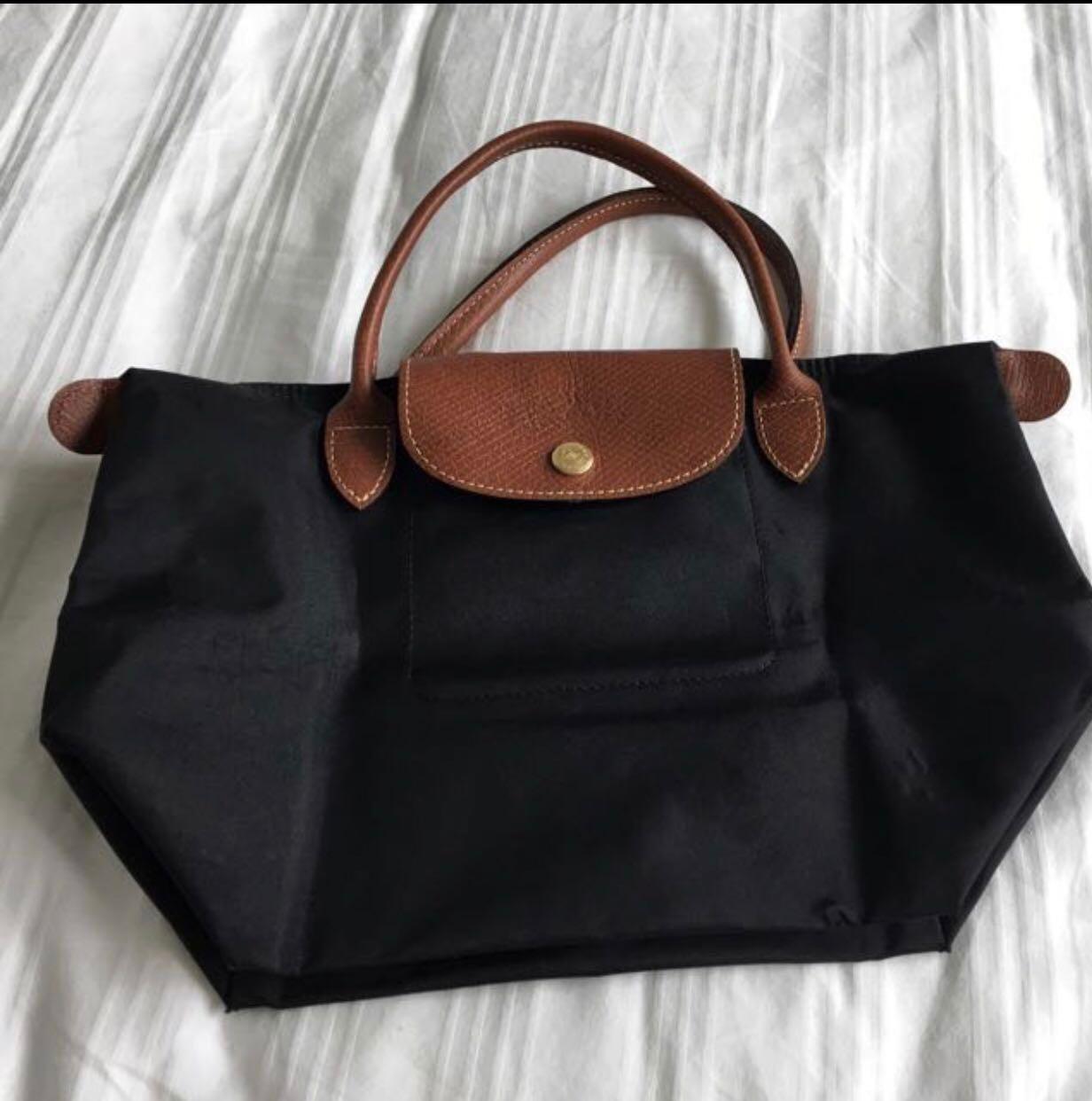 f36d0dfd723 Longchamp Le Pliage short handle (Small), Women's Fashion, Bags ...