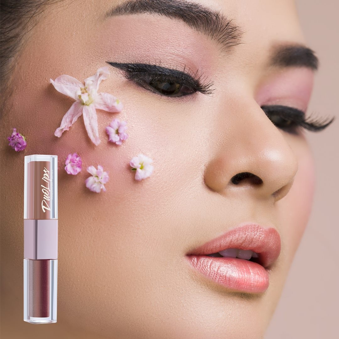 Lt Pro Millenial Duo Lips 01 Matte And Metallic Gloss Soft Pink Liptisk National Lipstick Day Promotion Usual 15 Health Beauty Makeup On Carousell
