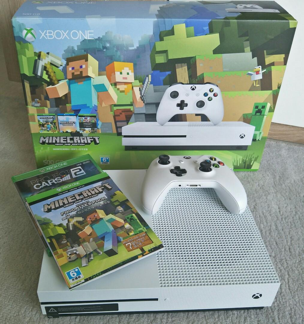 XBOX ONE MINECRAFT Edition, Toys & Games, Video Gaming