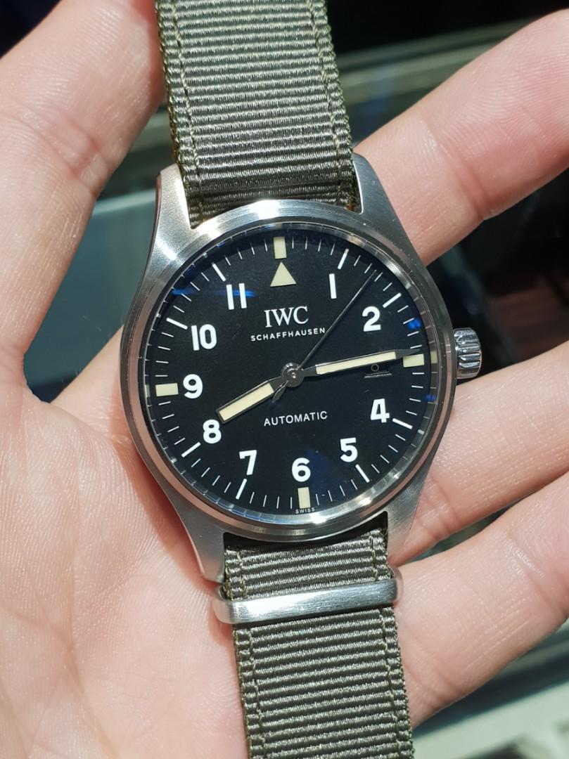 e49888310b16 MINT (2 Months Old)  IWC Pilot Mark XVIII Tribute to Mark XVI ...