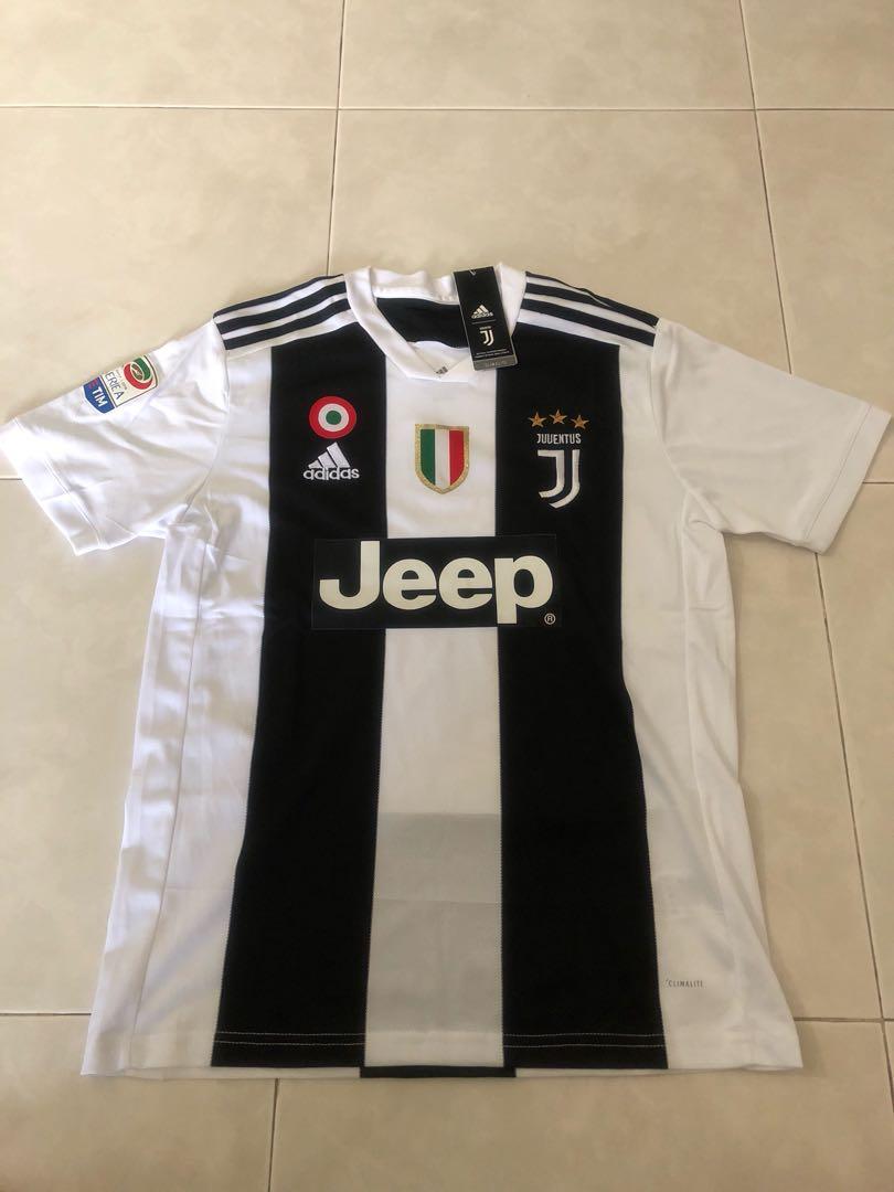a620b96b13d New 18 19 Season Juventus Home Kit Jersey M Size Ronaldo 7