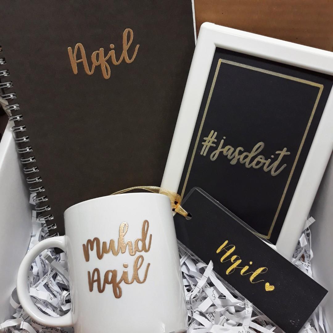 Personalised Gift Box Customised Customisable Bridesmaids Gift