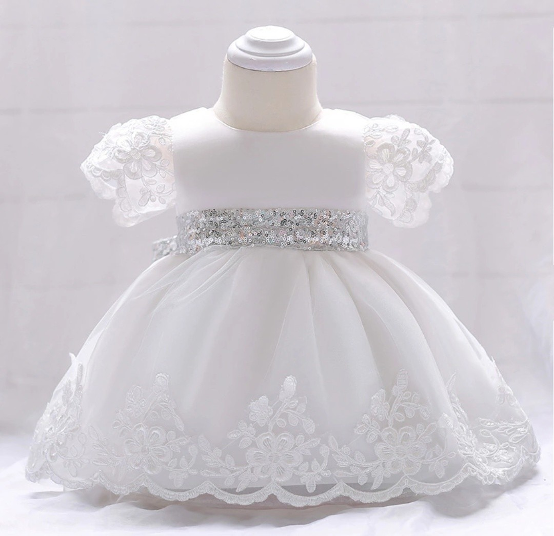 d69e569e70659 PO Baby Girl Sequin Dress, Babies & Kids, Babies Apparel on Carousell