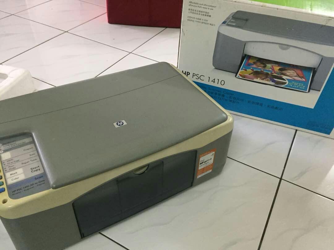 Aktualne Printer HP PSC 1410, Electronics, Computer Parts & Accessories on LU14