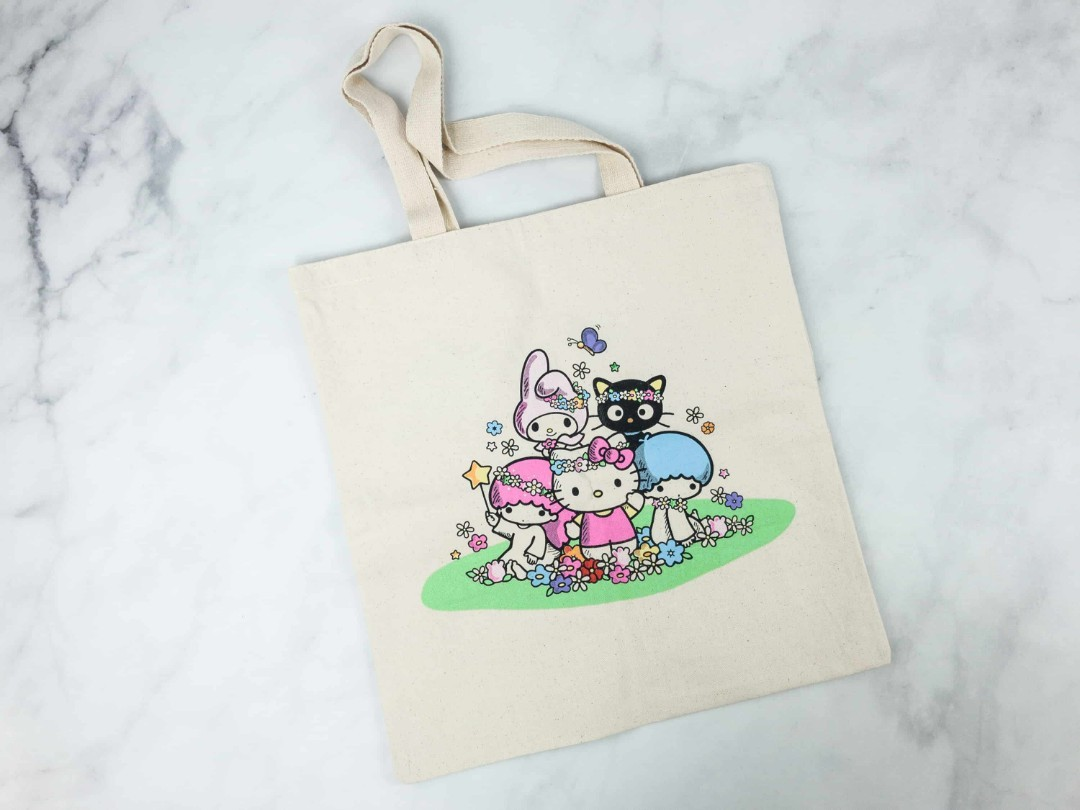 4891225fb697 Hello Kitty and Friends Canvas Tote Bag