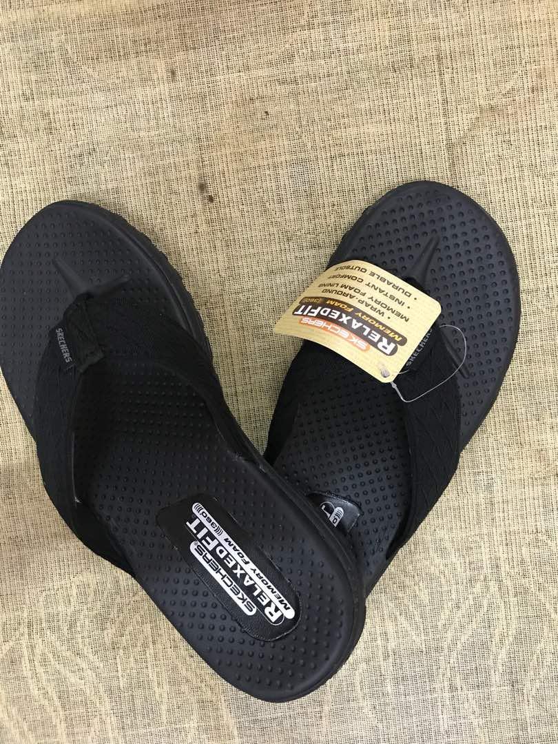 skechers memory foam 360 flip flops