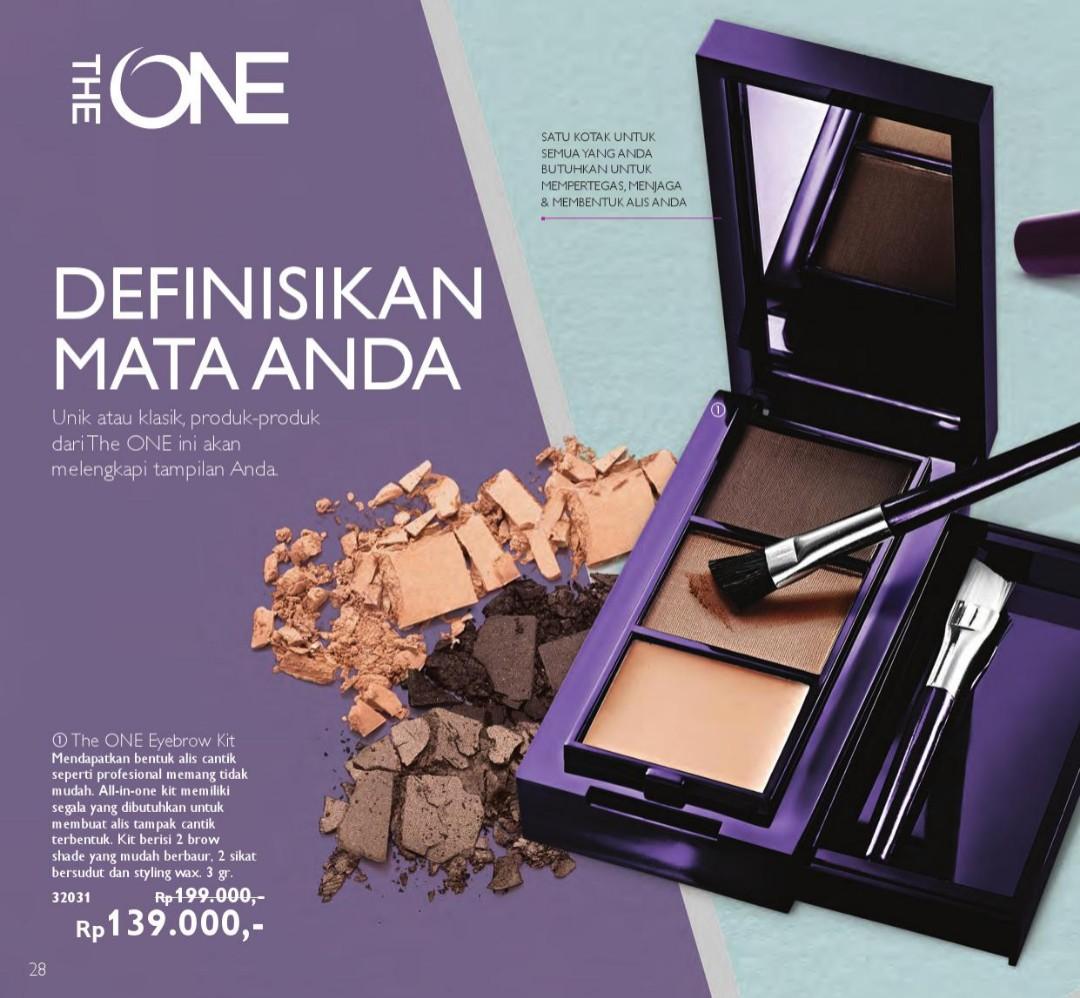 The One Eyebrow Kit Kesehatan Kecantikan Rias Wajah Di Carousell Kuas Blush On Tabung 139