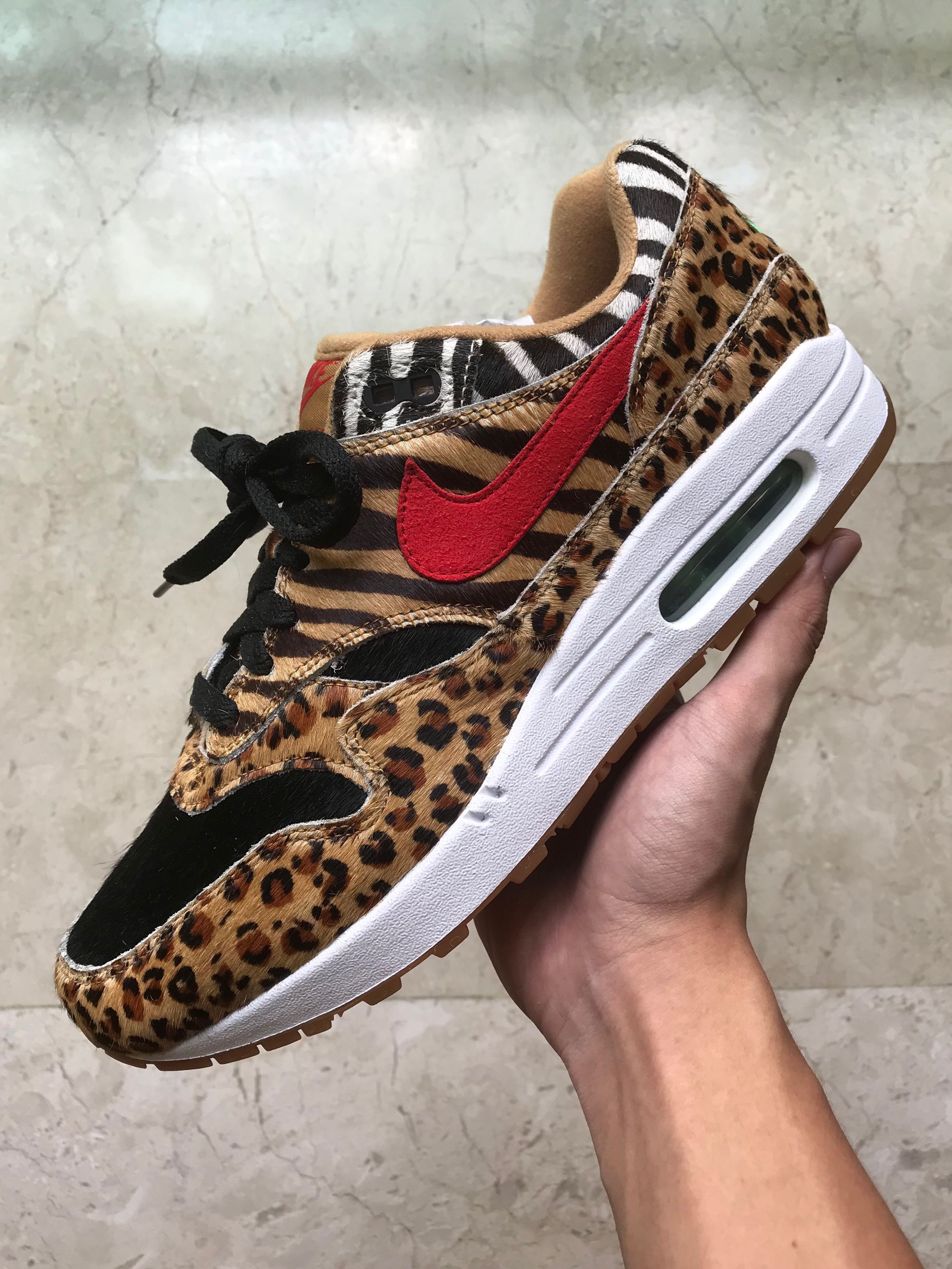 timeless design 5aded f36b5 ... buy us 9 nike air max 1 atmos animal pack 2.0 mens fashion footwear  sneakers on