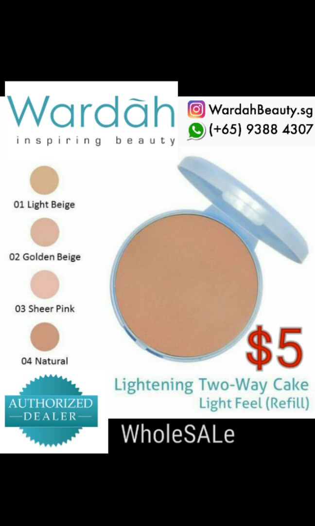 Wardah refill lightening twc July 2018 On SALE $5 nett price while stock last, Health & Beauty, Makeup on Carousell