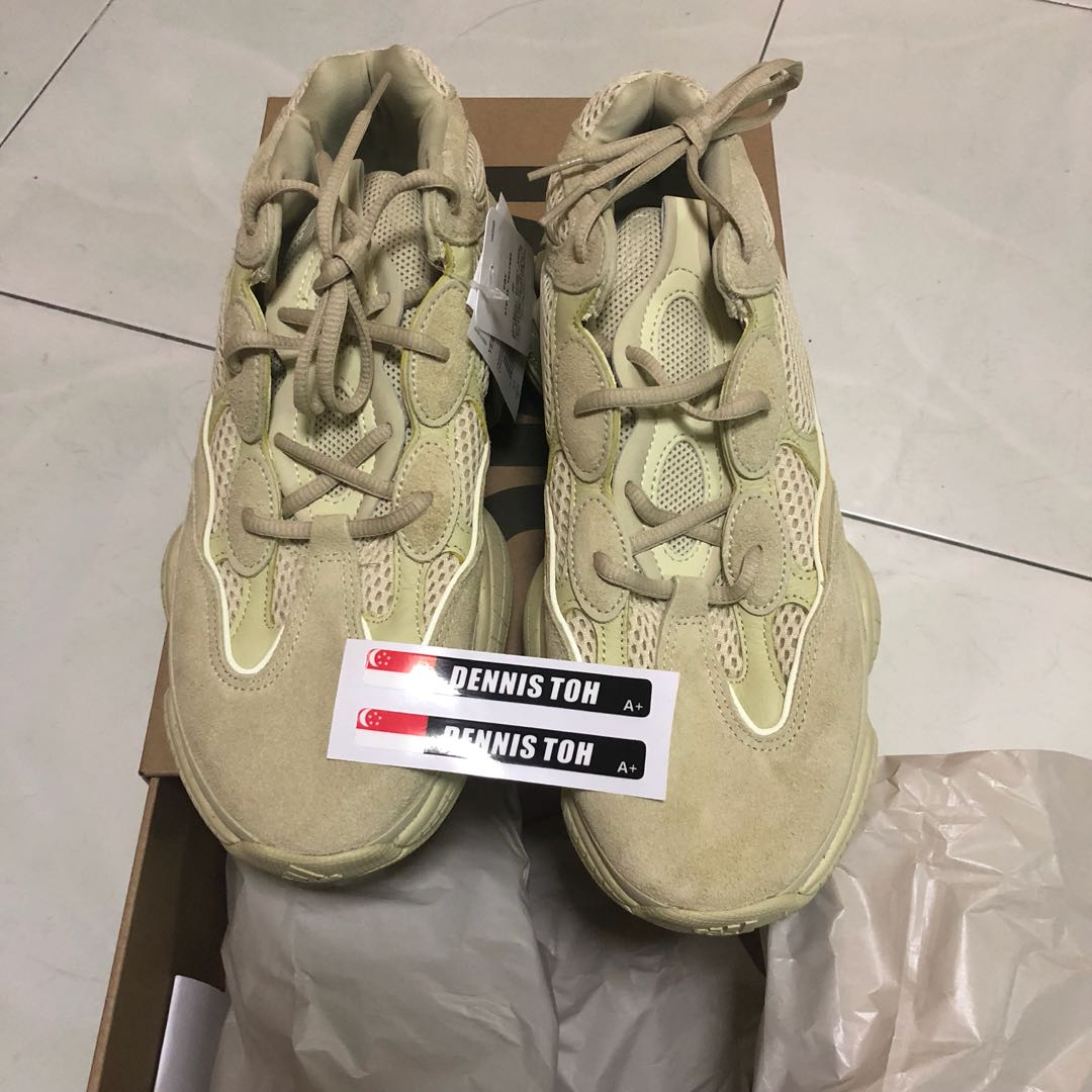 23a58ab1a5a Yeezy 500 Supermoon Yellow